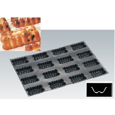 フレキシパン 溝付ケーキ型 REF-1081 REF-1081 溝付ケーキ型 16ヶ取 フレキシパン/業務用/新品/小物送料対象商品, 当季大流行:9a2214be --- itxassou.fr