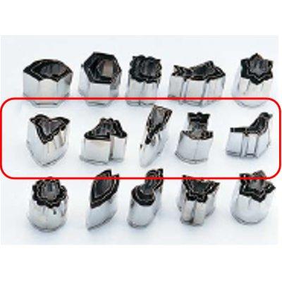 ステン手作り 生抜5種セット(各種3pcs) 千鳥、富士山、羽子板、舟、ウグイス/業務用/新品/小物送料対象商品