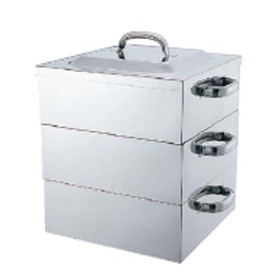 厨房機器 熱機器 新作 大人気 保温機器 蒸器 ドロアタイプ蒸器 角蒸器2段 業務用 新品 テンポス 送料無料 60cm おすすめ