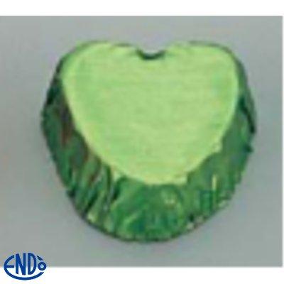 チョコカップ(2,000枚入) 9014ハート(緑)/業務用/新品/小物送料対象商品