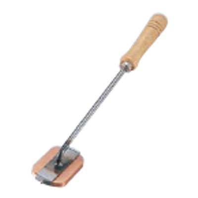 木柄キャラメライザー 小判型 銅/業務用/新品/小物送料対象商品