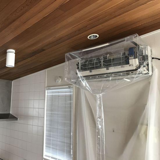 壁掛用エアコン洗浄用シート 特大壁掛用 エアコンカバーサービス