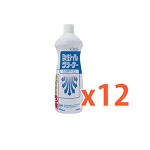 粘性があり 汚れにしっかりとアタックする強力洗剤です 正規品 シーバイエス 送料無料 一部地域を除く 酸性トイレクリーナー 12本セット 酸性タイプ トイレクリーナー 800ml