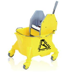 モップ絞り器 アイメックモップリンガー&バケツ(24L)セット 1台 【組み立て説明書付なので安心】