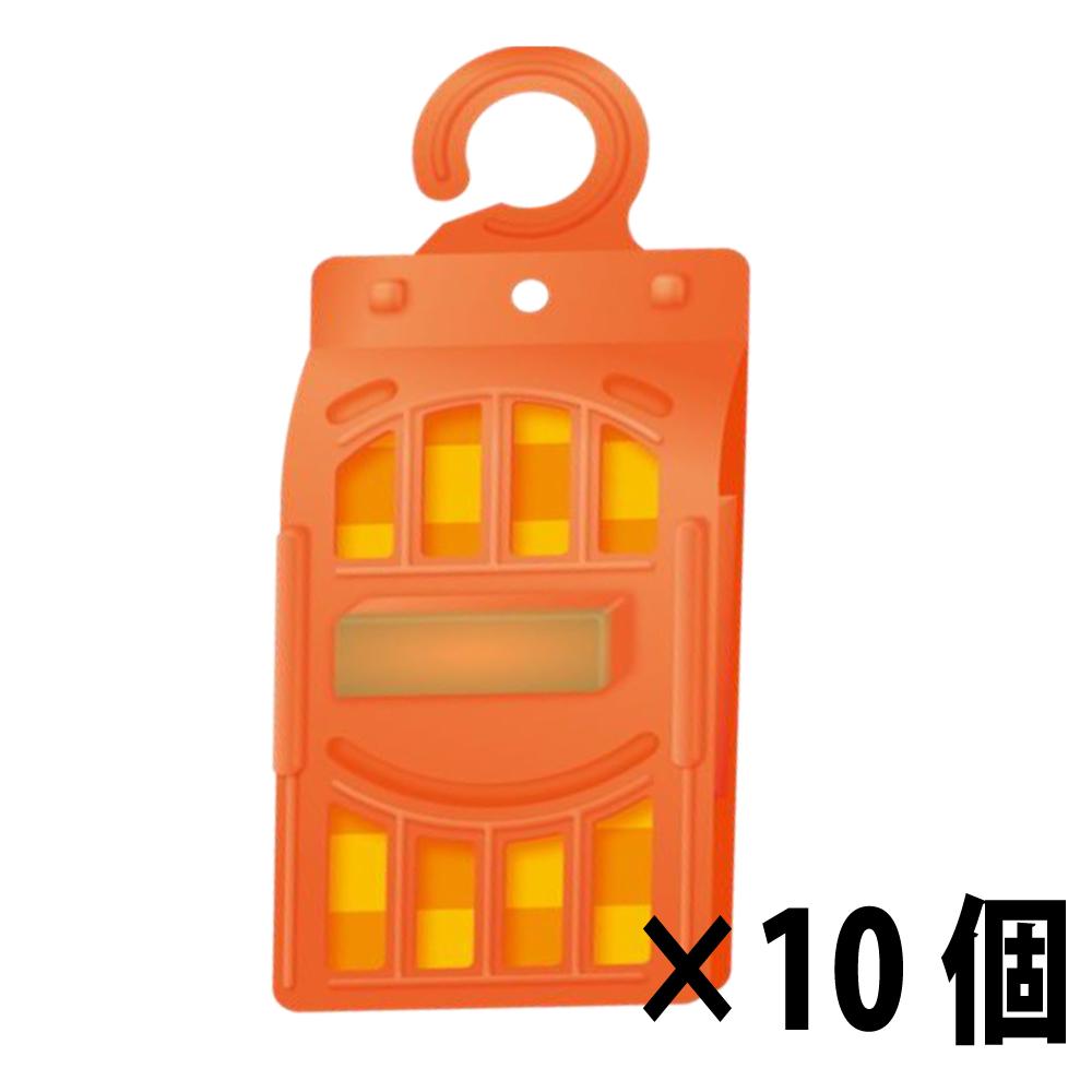 ハエ類 コバエ類の捕獲 に最適です 業務用フライキャッチャー ディスカウント 10個セット 専門店 Z オレンジ