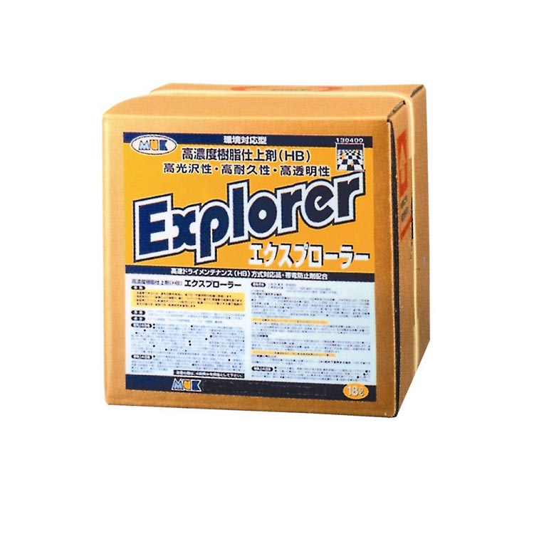 ムックシリーズ バフ対応 高光沢 速乾性 樹脂ワックス エクスプローラー18L つやげん