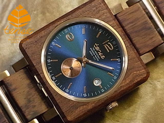 No.497 アフリカンローズウッド使用1971年創業のカナダ木工専門技を結集し、匠が創り上げたTENSE(テンス)木製腕時計(ウッドウォッチ)。テンス社日本総輸入元公式販売サイト。【日本総輸入元のメンテナンス保証付】 テンス【tense】キャレセルクルモデル