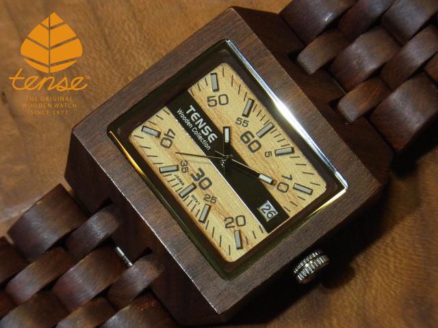 テンス【tense】カンヴァスモデル No.243 サンダルウッド使用1971年創業のカナダ木工専門技を結集し、匠が創り上げたTENSE木製腕時計(ウッドウォッチ)。テンス社日本総輸入元公式販売サイト。【日本総輸入元のメンテナンス保証付】