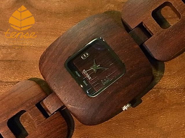 推奨 隠れた人気を誇る TENSE木製腕時計 ウッドウオッチで きらり 個性を テンス tense No.238 日本総輸入元のメンテナンス保証付 テンス社日本総輸入元公式販売サイト エレガンスモデル サンダルウッド使用1971年創業のカナダ木工専門技を結集し ウッドウォッチ モデル着用 注目アイテム 匠が創り上げたTENSE木製腕時計
