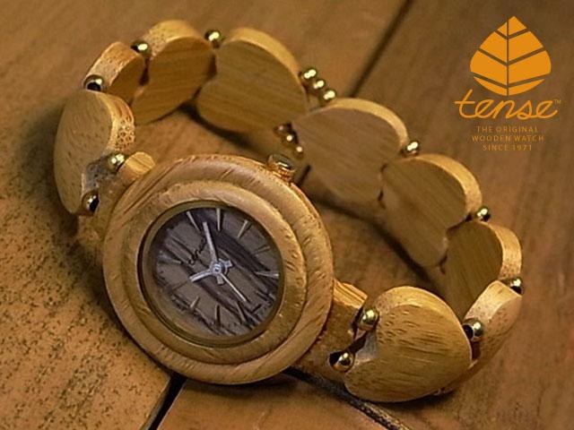 バンブーモデル No. B7 竹製腕時計(bamboo)1971年創業のカナダ木工専門技を結集し、匠が創り上げたTENSE木製腕時計(バンブーウォッチ)。テンス社日本総輸入元公式販売サイト。【日本総輸入元のメンテナンス保証付】