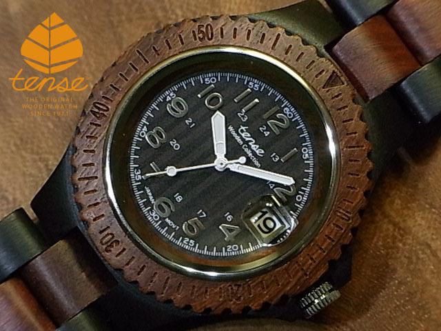 テンス【tense】ネオアーバンモデル No.144  Dサンダル & サンダルウッド使用1971年創業のカナダ木工専門技を結集し、匠が創り上げたTENSE木製腕時計(ウッドウォッチ)。テンス社日本総輸入元公式販売サイト。【日本総輸入元のメンテナンス保証付】