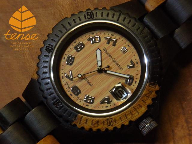 テンス【tense】アーバンモデル No.61 インレイドサンダルウッド使用1971年創業のカナダ木工専門技を結集し、匠が創り上げたTENSE木製腕時計(ウッドウォッチ)。テンス社日本総輸入元公式販売サイト。【日本総輸入元のメンテナンス保証付】