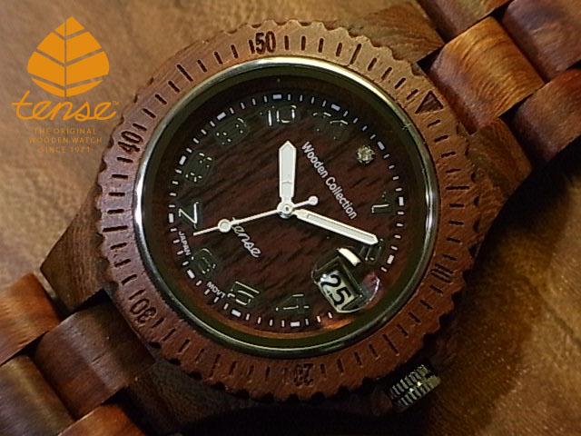 テンス【tense】アーバンモデル No.50 サンダルウッド使用1971年創業のカナダ木工専門技を結集し、匠が創り上げたTENSE木製腕時計(ウッドウォッチ)。テンス社日本総輸入元公式販売サイト。【日本総輸入元のメンテナンス保証付】