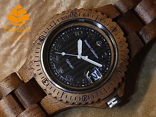テンス【tense】アーバンモデル No.349 ウォルナット使用1971年創業のカナダ木工専門技を結集し、匠が創り上げたTENSE(テンス)木製腕時計(ウッドウォッチ)。テンス社日本総輸入元公式販売サイト。【日本総輸入元のメンテナンス保証付】