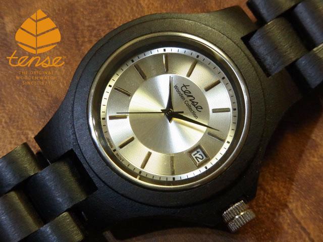 テンス【tense】トラディショナルモデル No.279  ダークサンダルウッド使用1971年創業のカナダ木工専門技を結集し、匠が創り上げたTENSE木製腕時計(ウッドウォッチ)。テンス社日本総輸入元公式販売サイト。【日本総輸入元のメンテナンス保証付】