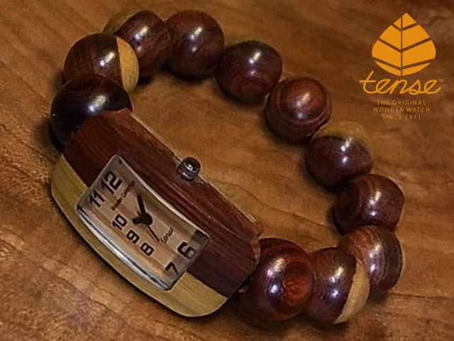 テンス【tense】JUZUブレスレットモデル No.333 インレイドサンダルウッド使用1971年創業のカナダ木工専門技を結集し、匠が創り上げたTENSE木製腕時計(ウッドウォッチ)。テンス社日本総輸入元公式販売サイト。【日本総輸入元のメンテナンス保証付】