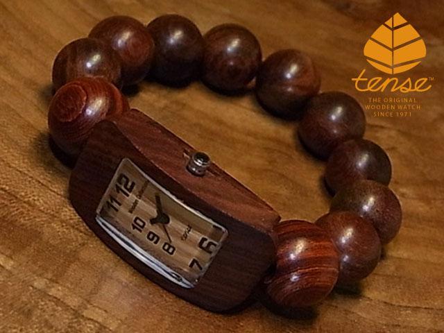 テンス【tense】JUZUブレスレットモデル No.331 サンダルウッド使用1971年創業のカナダ木工専門技を結集し、匠が創り上げたTENSE木製腕時計(ウッドウォッチ)。テンス社日本総輸入元公式販売サイト。【日本総輸入元のメンテナンス保証付】