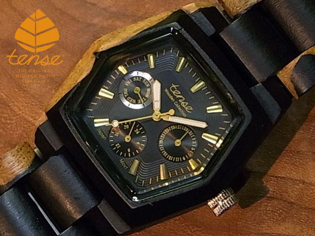 テンス【tense】ヘキサゴンモデル No.51-N インレイドサンダルウッド使用1971年創業のカナダ木工専門技を結集し、匠が創り上げたTENSE木製腕時計(ウッドウォッチ)。テンス社日本総輸入元公式販売サイト。【日本総輸入元のメンテナンス保証付】