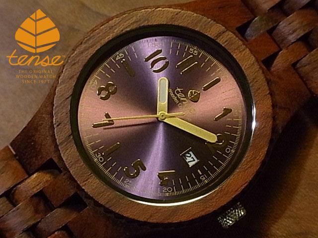 テンス【tense】グランプレミエモデル No.372 アフリカンローズウッド使用1971年創業のカナダ木工専門技を結集し、匠が創り上げたTENSE(テンス)木製腕時計(ウッドウォッチ)。テンス社日本総輸入元公式販売サイト。【日本総輸入元のメンテナンス保証付】
