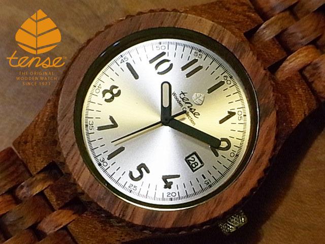テンス【tense】グランプレミエモデル No.375 アフリカンローズウッド使用1971年創業のカナダ木工専門技を結集し、匠が創り上げたTENSE(テンス)木製腕時計(ウッドウォッチ)。テンス社日本総輸入元公式販売サイト。【日本総輸入元のメンテナンス保証付】