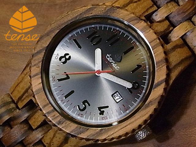テンス【tense】グランプレミエモデル No.394 ゼブラウッド使用1971年創業のカナダ木工専門技を結集し、匠が創り上げたTENSE(テンス)木製腕時計(ウッドウォッチ)。テンス社日本総輸入元公式販売サイト。【日本総輸入元のメンテナンス保証付】