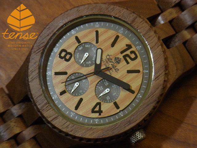 テンス【tense】グランドゥモデル No.406 ウォルナット使用1971年創業のカナダ木工専門技を結集し、匠が創り上げたTENSE(テンス)木製腕時計(ウッドウォッチ)。テンス社日本総輸入元公式販売サイト。【日本総輸入元のメンテナンス保証付】