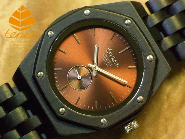 テンス【tense】オクタゴンアドバンストモデル No.481 ダークサンダルウッド使用1971年創業のカナダ木工専門技を結集し、匠が創り上げたTENSE(テンス)木製腕時計。テンス社日本総輸入元公式販売サイト。【日本総輸入元のメンテナンス保証付】