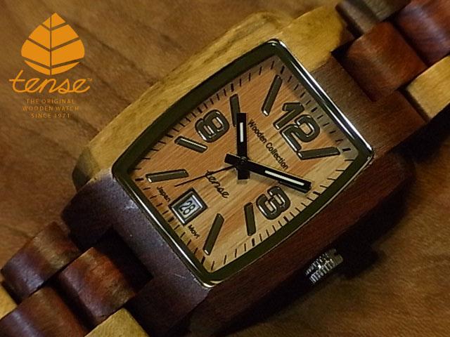 テンス【tense】トノーII モデル No.178 インレイドサンダルウッド使用1971年創業のカナダ木工専門技を結集し、匠が創り上げたTENSE木製腕時計(ウッドウォッチ)。テンス社日本総輸入元公式販売サイト。【日本総輸入元のメンテナンス保証付】