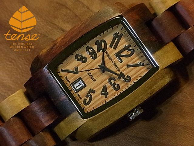 テンス【tense】トノーIモデル No.180 インレイドサンダルウッド使用1971年創業のカナダ木工専門技を結集し、匠が創り上げたTENSE木製腕時計(ウッドウォッチ)。テンス社日本総輸入元公式販売サイト。【日本総輸入元のメンテナンス保証付】