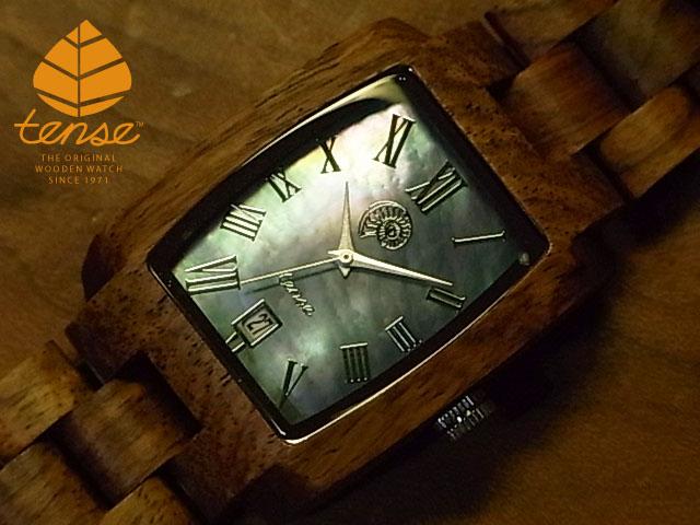 テンス【tense】トノーIVモデル No.432 木製腕時計(チーク)1971年創業のカナダ木工専門技を結集し、匠が創り上げたTENSE(テンス)木製腕時計(ウッドウォッチ)。テンス社日本総輸入元公式販売サイト。【日本総輸入元のメンテナンス保証付】