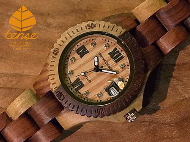 テンス【tense】プチアーバンモデル No.281 インレイドサンダルウッド使用1971年創業のカナダ木工専門技を結集し、匠が創り上げたTENSE木製腕時計(ウッドウォッチ)。テンス社日本総輸入元公式販売サイト。【日本総輸入元のメンテナンス保証付】