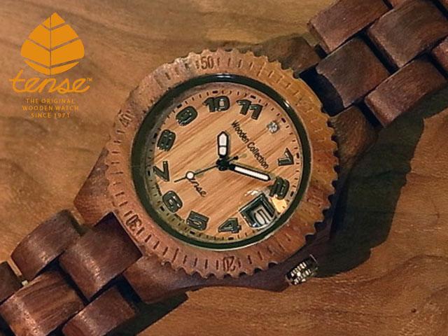 テンス【tense】プチアーバンモデル No.295 木製腕時計(サンダルウッド)1971年創業のカナダ木工専門技を結集し、匠が創り上げたTENSE木製腕時計(ウッドウォッチ)。テンス社日本総輸入元公式販売サイト。【日本総輸入元のメンテナンス保証付】