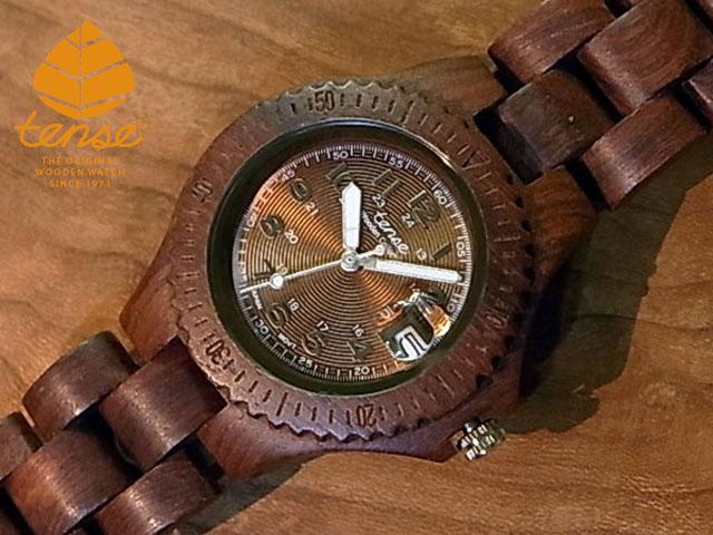 テンス【tense】プチアーバンモデル No.295-N木製腕時計(サンダルウッド)1971年創業のカナダ木工専門技を結集し、匠が創り上げたTENSE木製腕時計(ウッドウォッチ)。テンス社日本総輸入元公式販売サイト。【日本総輸入元のメンテナンス保証付】