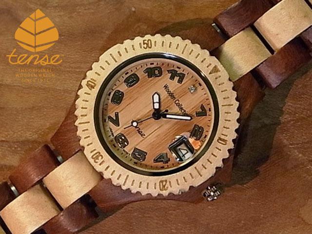 テンス【tense】プチアーバンモデル No.201 サンダルウッド&メイプルウッド使用1971年創業のカナダ木工専門技を結集し、匠が創り上げたTENSE木製腕時計(ウッドウォッチ)。テンス社日本総輸入元公式販売サイト。【日本総輸入元のメンテナンス保証付】