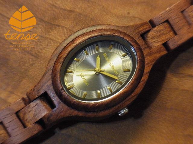テンス【tense】オーバルモデル No.92-N アフリカンローズウッド使用1971年創業のカナダ木工専門技を結集し、匠が創り上げたTENSE木製腕時計(ウッドウォッチ)。テンス社日本総輸入元公式販売サイト。【日本総輸入元のメンテナンス保証付】