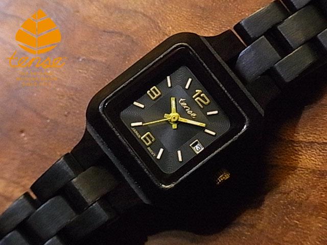 テンス【tense】プチスクエア日付機能付モデル No.474 ダークサンダルウッド使用1971年創業のカナダ木工専門技を結集し、匠が創り上げたTENSE木製腕時計(ウッドウォッチ)。テンス社日本総輸入元公式販売サイト。【日本総輸入元のメンテナンス保証付】