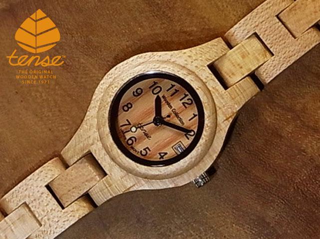 テンス【tense】シグネチャーL7509日付機能付モデル メイプルウッド使用1971年創業のカナダ木工専門技を結集し、匠が創り上げたTENSE木製腕時計(ウッドウォッチ)。テンス社日本総輸入元公式販売サイト。【日本総輸入元のメンテナンス保証付】 No.12