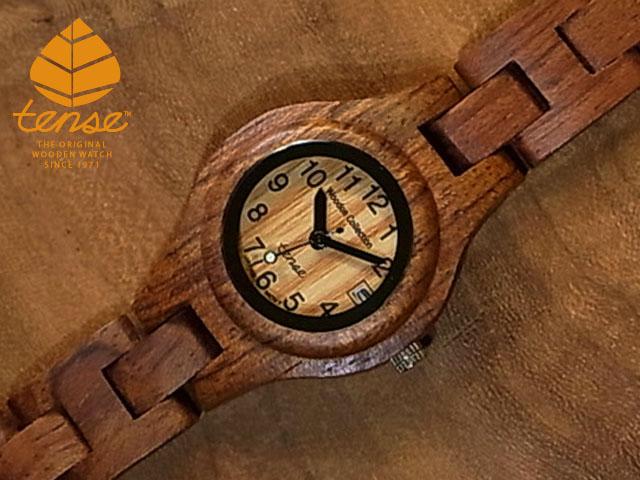 テンス【tense】シグネチャーL7509日付機能付モデル No.11アフリカンローズウッド使用1971年創業のカナダ木工専門技を結集し、匠が創り上げたTENSE木製腕時計(ウッドウォッチ)。テンス社日本総輸入元公式販売サイト。【日本総輸入元メンテナンス保証付】