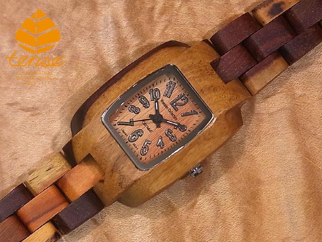 テンス【tense】プチトノーモデル No.316 インレイドサンダルウッド使用1971年創業のカナダ木工専門技を結集し、匠が創り上げたTENSE木製腕時計(ウッドウォッチ)。テンス社日本総輸入元公式販売サイト。【日本総輸入元のメンテナンス保証付】