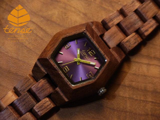 テンス【tense】プチヘキサゴンモデル No.6 アフリカンローズウッド使用1971年創業のカナダ木工専門技を結集し、匠が創り上げたTENSE木製腕時計(ウッドウォッチ)。テンス社日本総輸入元公式販売サイト。【日本総輸入元のメンテナンス保証付】
