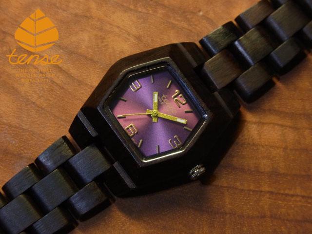 テンス【tense】プチヘキサゴンモデル No.5 ダークサンダルウッド使用1971年創業のカナダ木工専門技を結集し、匠が創り上げたTENSE木製腕時計(ウッドウォッチ)。テンス社日本総輸入元公式販売サイト。【日本総輸入元のメンテナンス保証付】