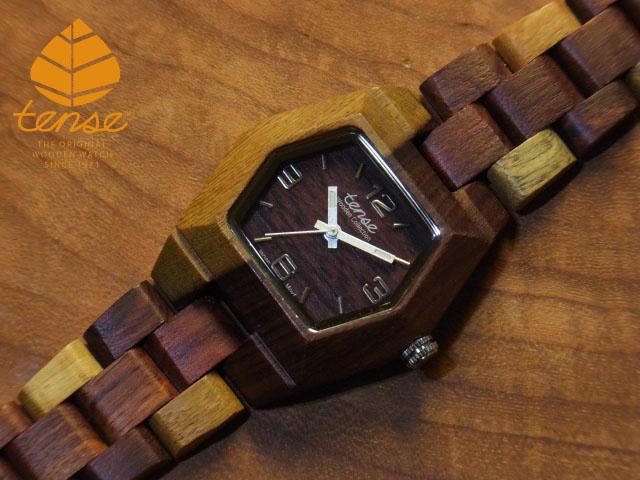 テンス【tense】プチヘキサゴンモデル No.9 インレイドサンダルウッド使用1971年創業のカナダ木工専門技を結集し、匠が創り上げたTENSE木製腕時計(ウッドウォッチ)。テンス社日本総輸入元公式販売サイト。【日本総輸入元のメンテナンス保証付】