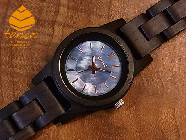 テンス【tense】グロリアスモデルモデル No.518 リードウッド使用1971年創業のカナダ木工専門技を結集し、匠が創り上げたTENSE木製腕時計(ウッドウォッチ)。テンス社日本総輸入元公式販売サイト。【日本総輸入元のメンテナンス保証付】
