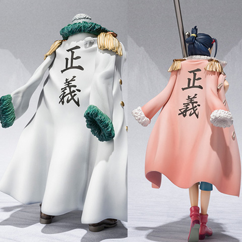 One piece PVC figure figuarts ZERO smoker and had too much 2 pieces