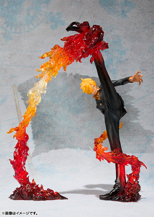 Figure figuarts ZERO one piece Sanji - Battle Ver... Devil 風脚 finishing touch shots