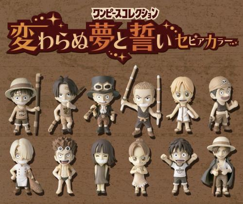 """ONE PIECE one piece PVC dream and promise special sepia """"fate."""""""