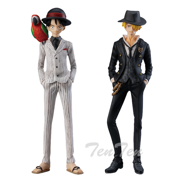 One piece PVC figure Super one piece styling SUIT DRESS STYLE 1 BOX