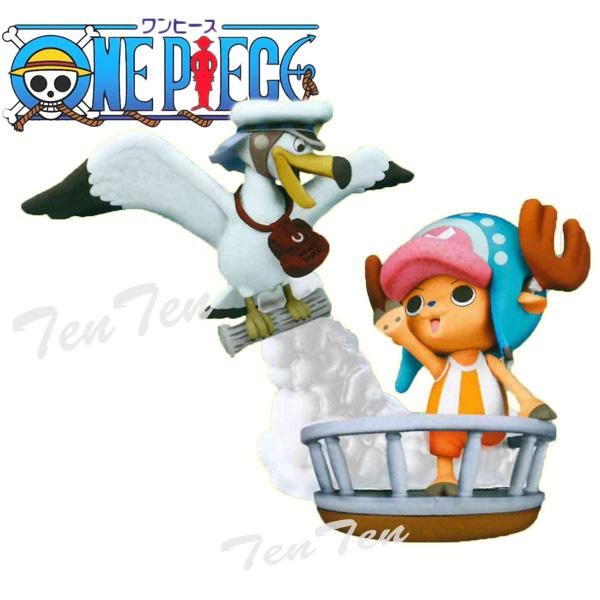 One piece PVC figure chopper desktop Theater figure Vol.4 SEA ANIMALS set 2