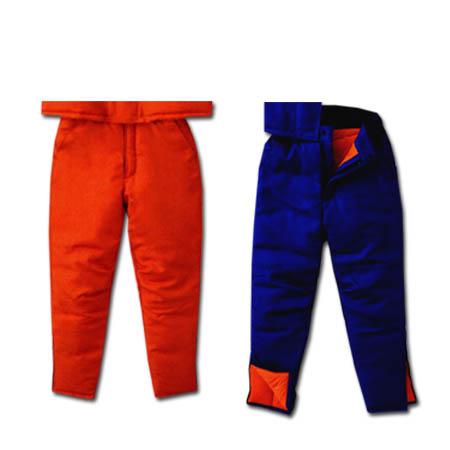 作業服 防寒着 作業着 冷凍倉庫用 防寒パンツ サンエス BO8006 ST8006 作業用ズボン 冷蔵庫用 防寒着 M~4Lサイズ オレンジ/ブルー