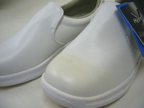公鸡鞋厨房鞋厨房鞋作食物供工作鞋超 V #5000 白色白色 25...0cm05P03Dec16